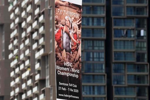 米女子ゴルフ、アジア開催の2大会を中止 新型ウイルス影響で