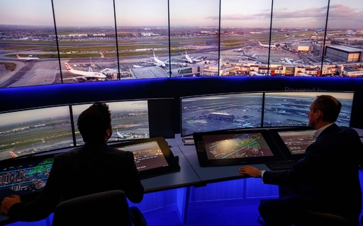 航空管制の超高解像度カメラ試験を実施、英ヒースロー