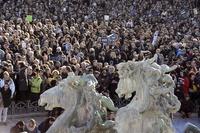 【写真特集】仏史上最大のデモ行進、対テロ結束で各国首脳も参加