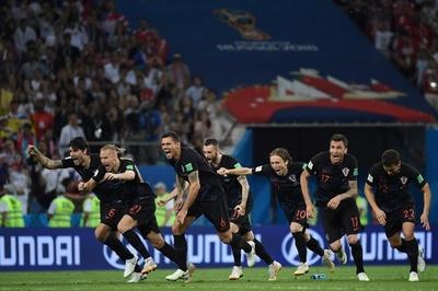 クロアチアがPK戦制しイングランドとの準決勝へ、開催国ロシアを撃破