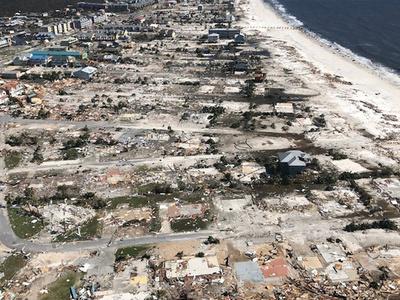 米南部、ハリケーン通過で「信じられない惨状」 死者6人に