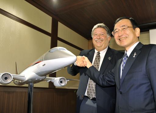 三菱の国産ジェット、米社から100機の大量受注