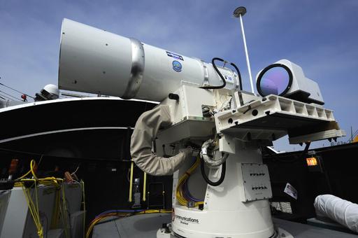 米陸軍、車載式レーザー兵器「HEL MD」の試験に成功