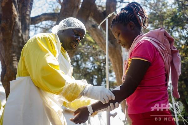 ジンバブエ、コレラ流行で非常事態宣言 1週間で21人死亡