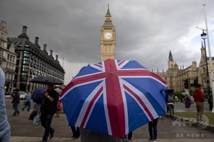 英EU離脱法が成立、メイ首相に発動権限