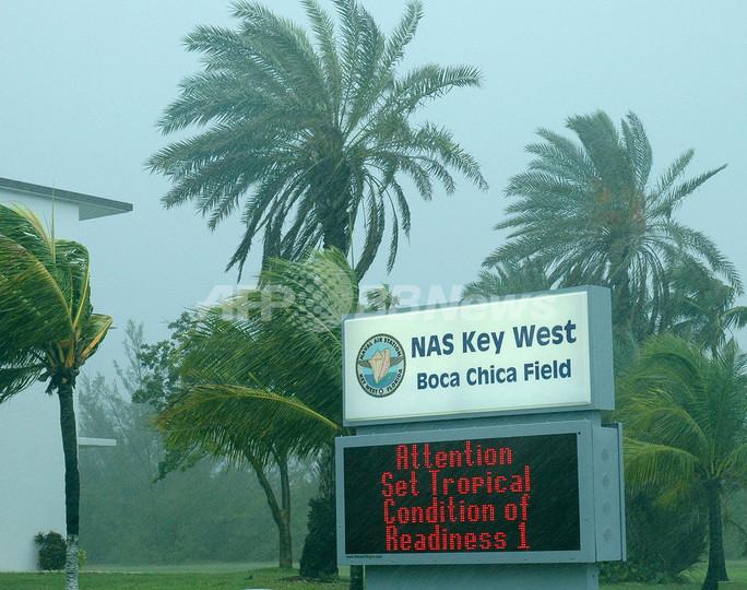 熱帯性低気圧「フェイ」フロリダに接近中、中米では死者40人