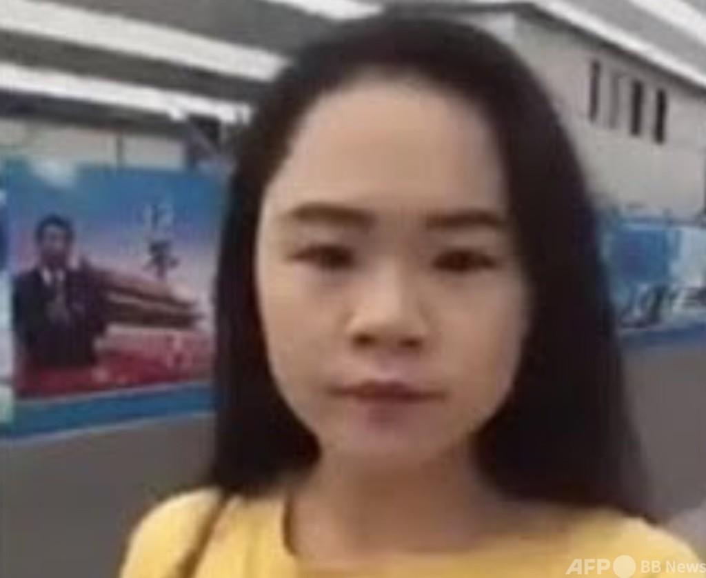 「死んだ方がまし」 習氏のポスターにインクかけた活動家、涙の訴え