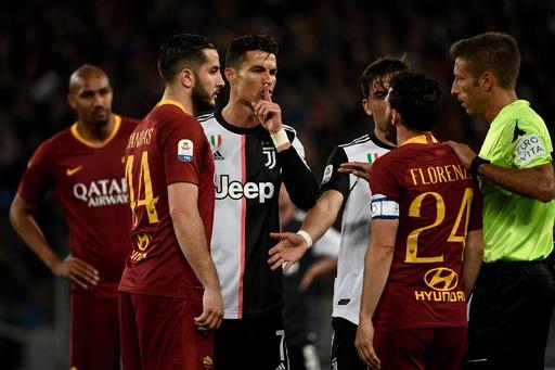 ローマがユーベ下す、ロナウドが相手MFの身長をからかうもしっぺ返しに