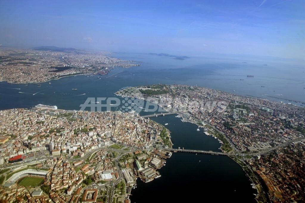 全長50キロ、「イスタンブール運河」の建設計画を発表 トルコ