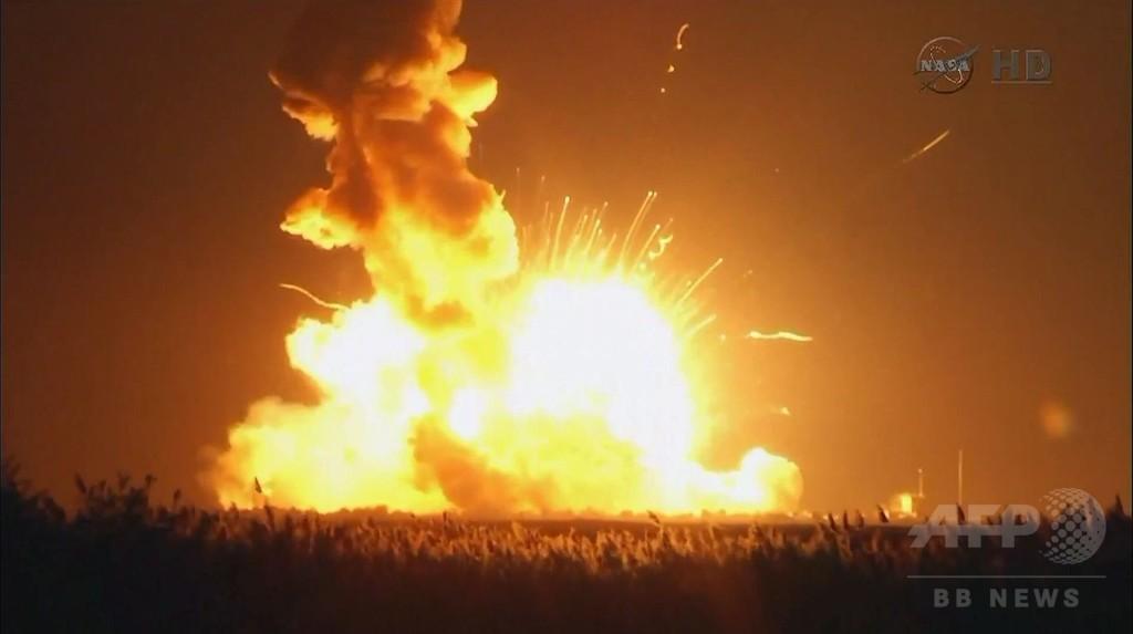 米無人補給機シグナス打ち上げ失敗、ロケットが爆発