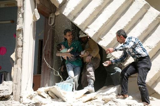 【AFP記者コラム】 アレッポ、地獄の一日