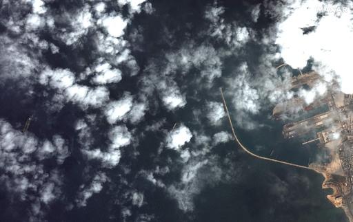 EU制裁違反容疑のイランタンカー、シリア沖で確認 衛星写真