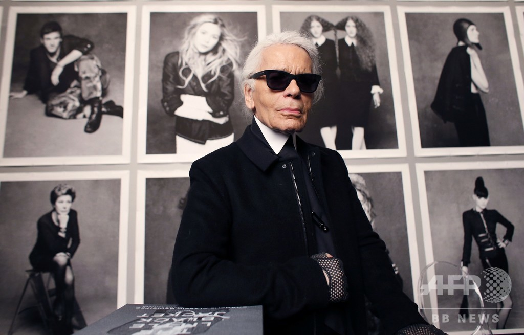 デザイナーのカール・ラガーフェルド氏、死去 85歳