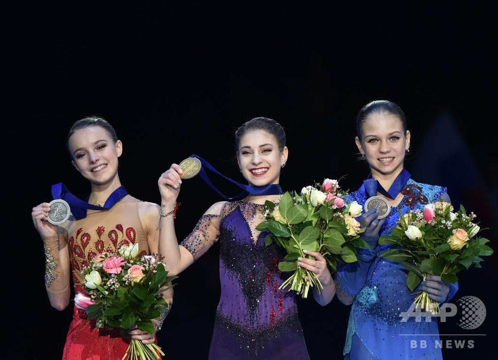コストルナヤがフィギュア欧州選手権女王に、大会はロシア一色