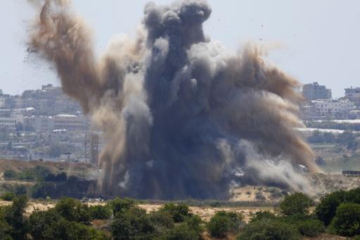 ガザ地区からロケット弾約90発、イスラエルは報復攻撃