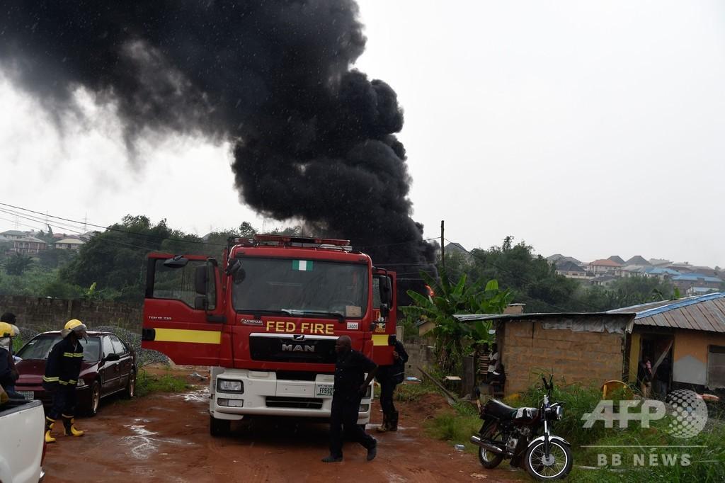 聖水と間違えガソリン注がれた男性焼死、パイプラインに引火も ナイジェリア