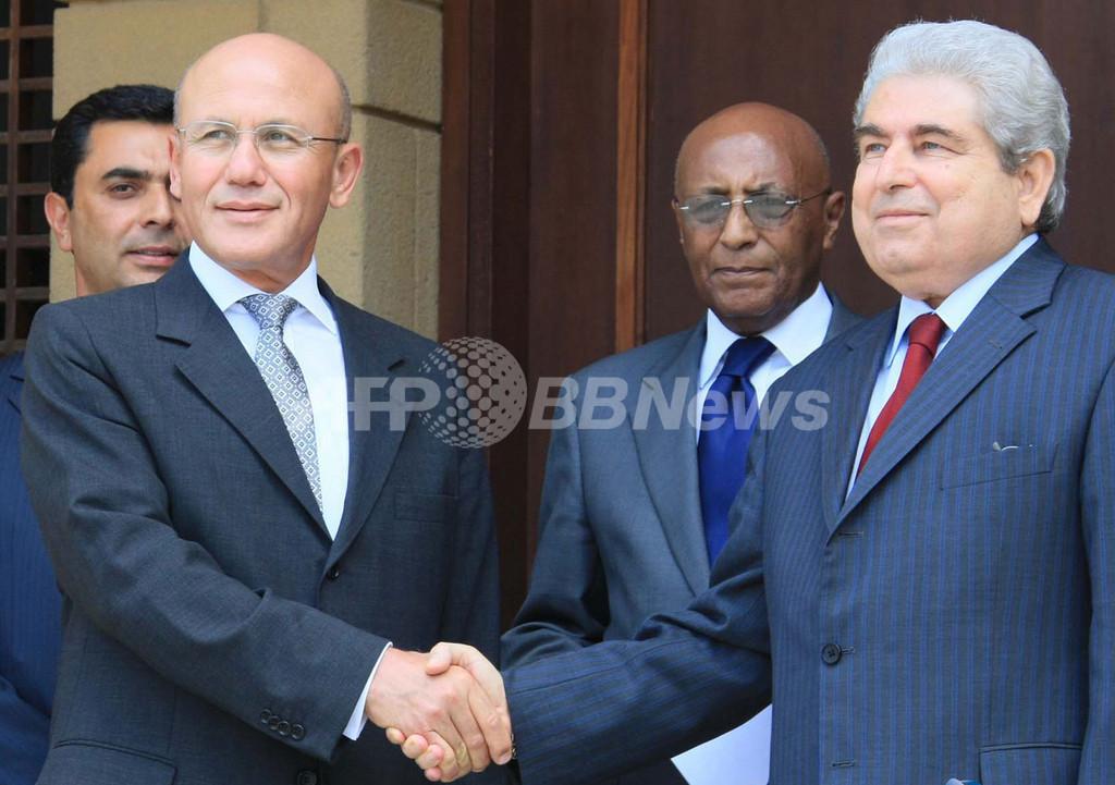 分断のキプロス、9月に再統合交渉開始 両首脳が合意