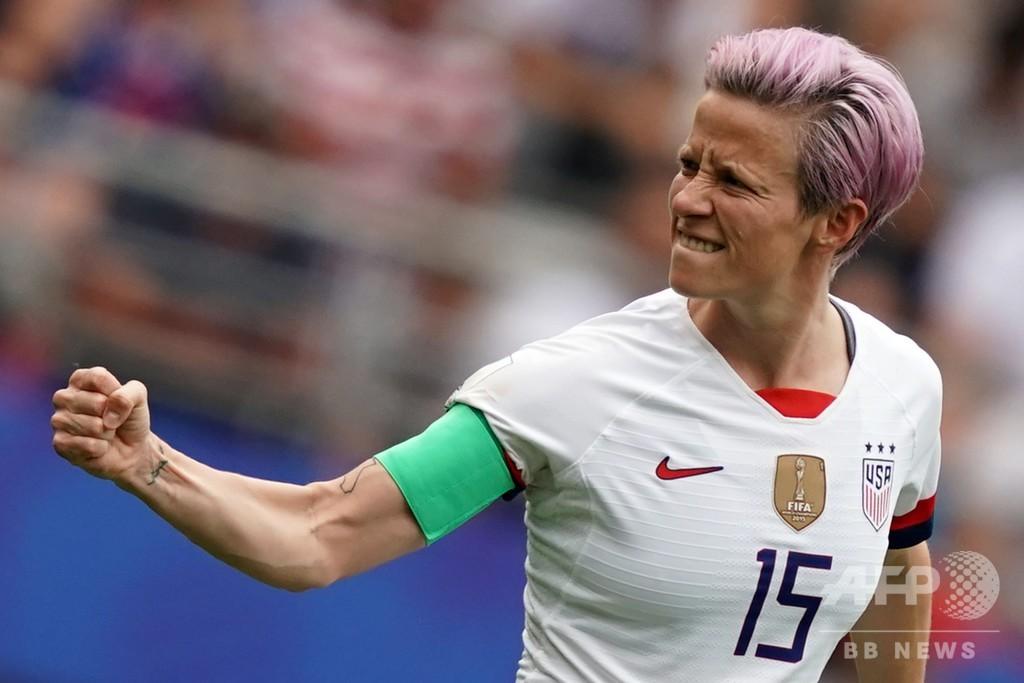 米女子サッカー代表の訪問拒否 トランプ氏「無礼」と非難