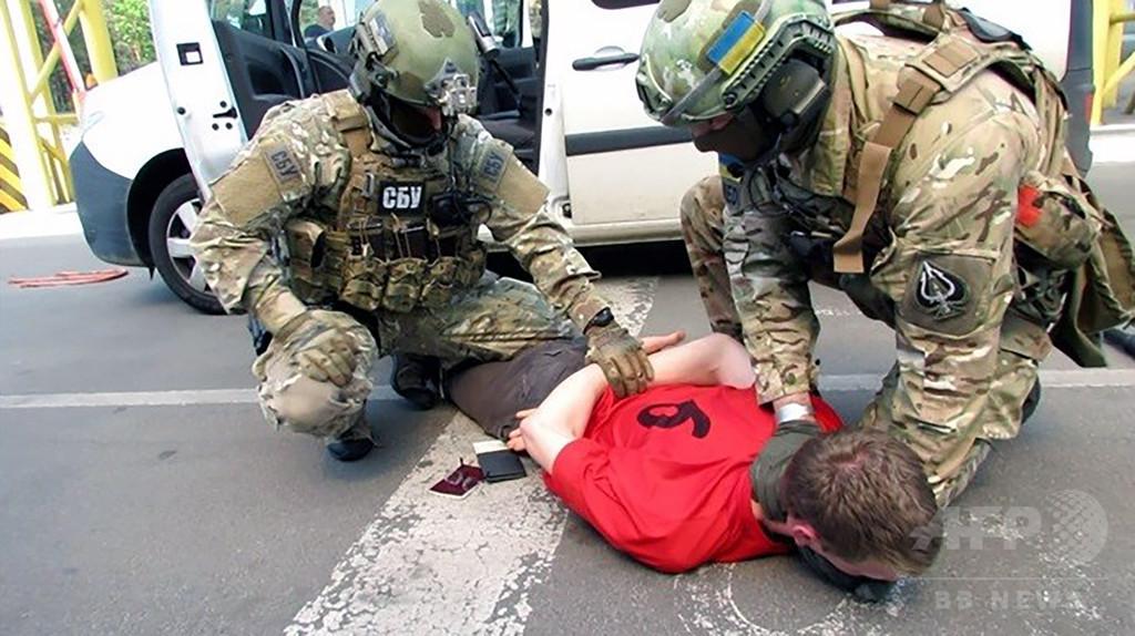 サッカー欧州選手権で攻撃15件計画、仏人の男拘束 ウクライナ