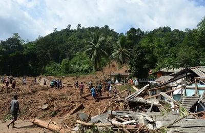 スリランカの豪雨、死者146人 避難者50万人に