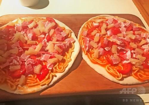 ピザにスパゲティとパイナップル! NZ首相に批判殺到