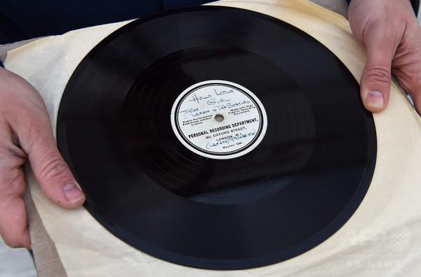 ビートルズの「聖杯」、1200万円で落札 希少なデモレコード