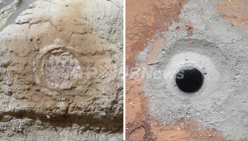 火星に生命に適した環境あった証拠、NASA探査車が発見