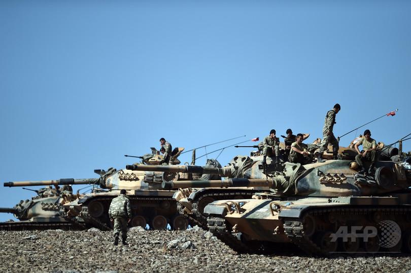 トルコ軍とISが過去最大の交戦、...