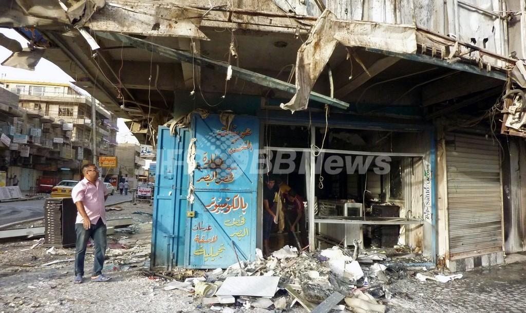 イラク首都と北部で攻撃相次ぐ、58人死亡