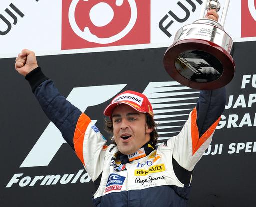 アロンソ 日本GP優勝でシーズン2勝目