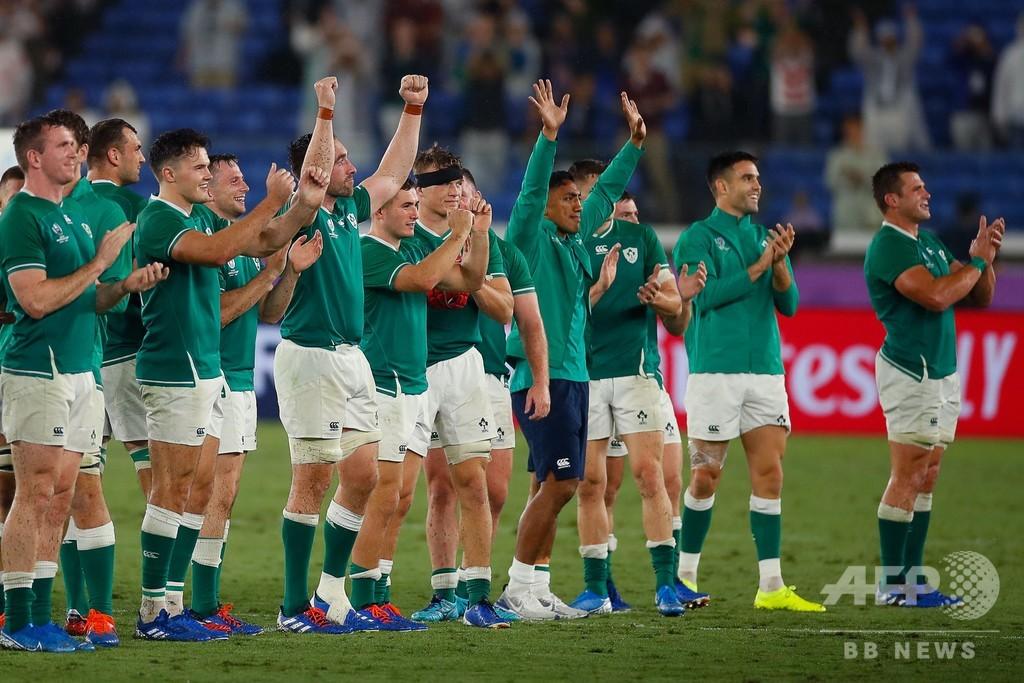アイルランドがスコットランドに圧勝、最高の滑り出し ラグビーW杯