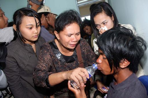 インドネシアのフェリー沈没、命を救ったバナナ