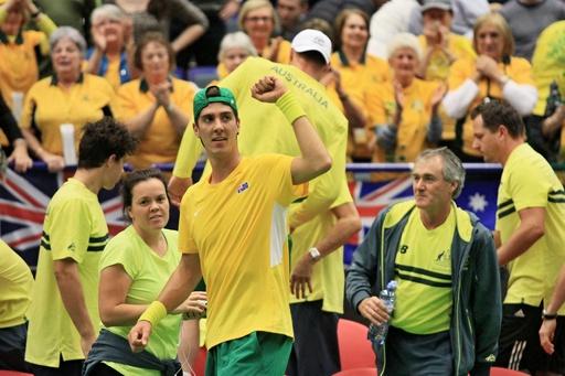 オーストラリア、チェコから予期せぬ2連勝 デビス杯