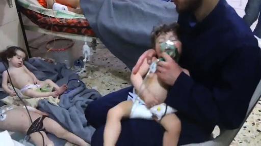 シリア政権、5月に化学兵器使用 米国が対抗措置へ