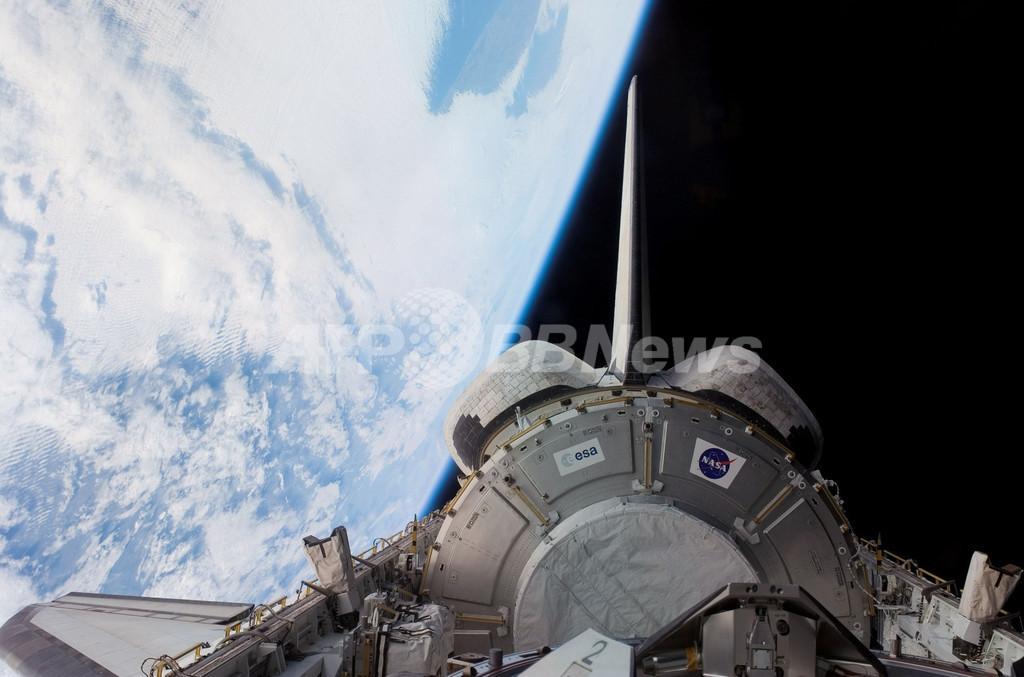 スペースシャトル「ディスカバリー」、船外活動開始