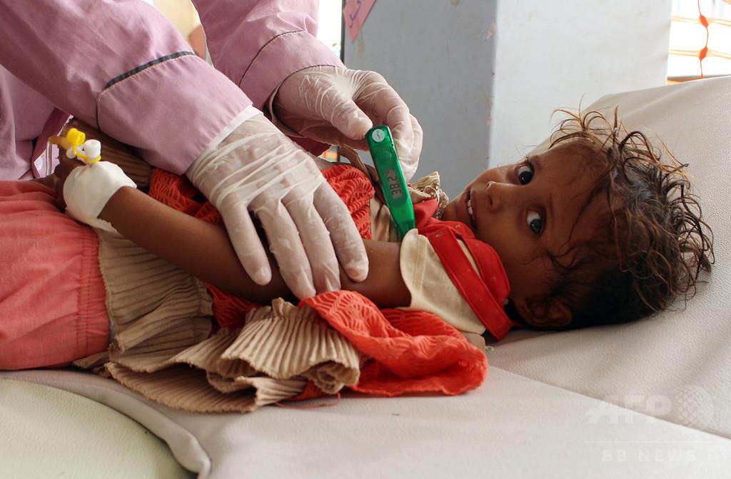 イエメンのコレラ流行が縮小、「地元の隠れた英雄たち」の努力で