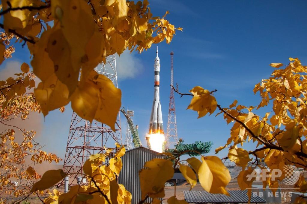地上からISSまで「3時間3分」、史上最短で到達 ロシアのソユーズ