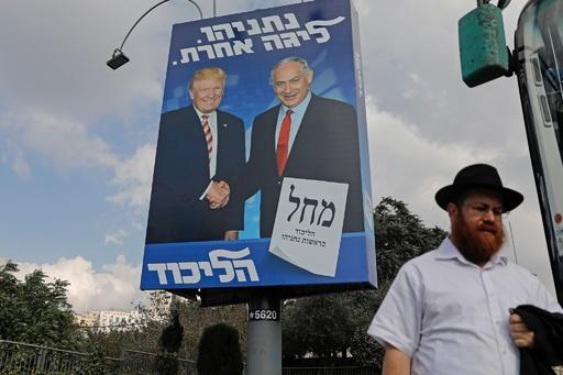 イスラエル総選挙は「僅差」、トランプ氏が見通し
