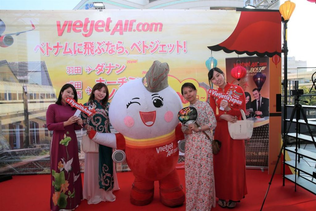 ベトジェットエア、横浜で開催された「ベトナムナイト 2019」に出展