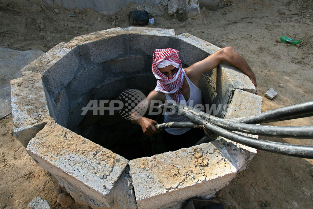 ガザ地区で密輸トンネル13本摘発、高まる人道危機