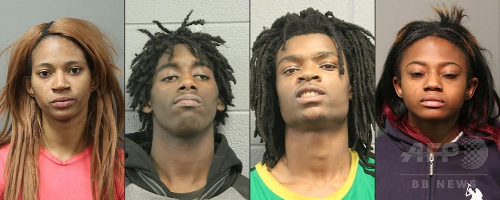 「くたばれトランプ」叫び白人暴行、動画出回る 黒人4人逮捕 米シカゴ