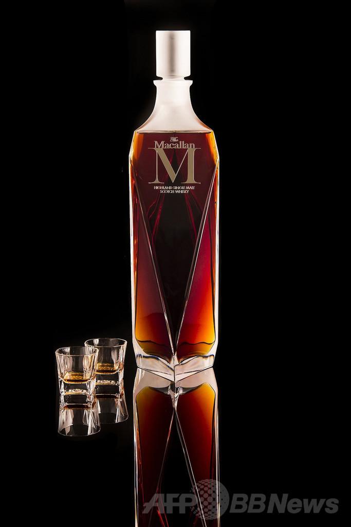 モルトウイスキー、史上最高の6600万円で落札 香港