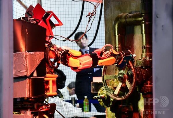 「国際ロボット展」開幕、災害時の実用性検証 東京
