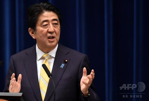 安倍首相、アジアに1100億ドル投資を表明 AIIB資本金上回る