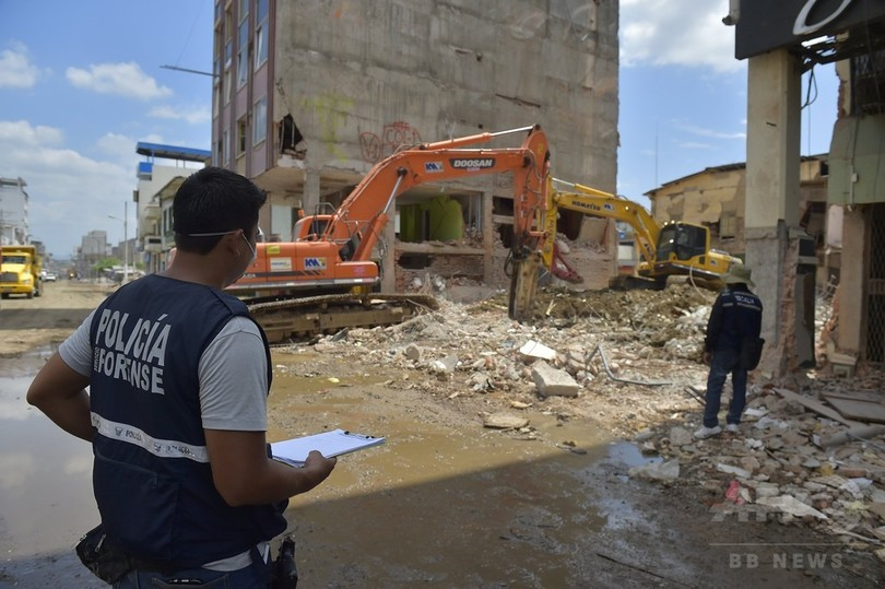 大地震の被災地、エクアドル西部ポルトビエホ 写真22枚 国際ニュース ...