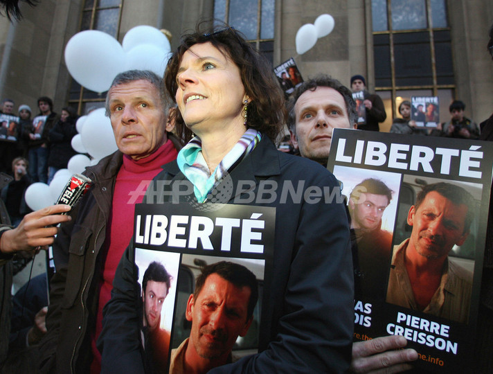ニジェールで逮捕・起訴されていた仏人ジャーナリストが保釈