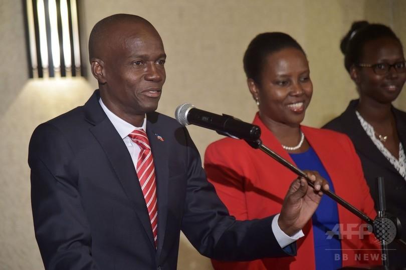 ハイチ大統領選、モイーズ氏の当選確定 選管が正式発表