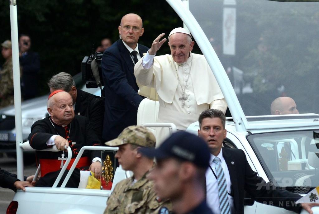 司祭が説教で「法王の死を望む」 大司教が非難 ポーランド