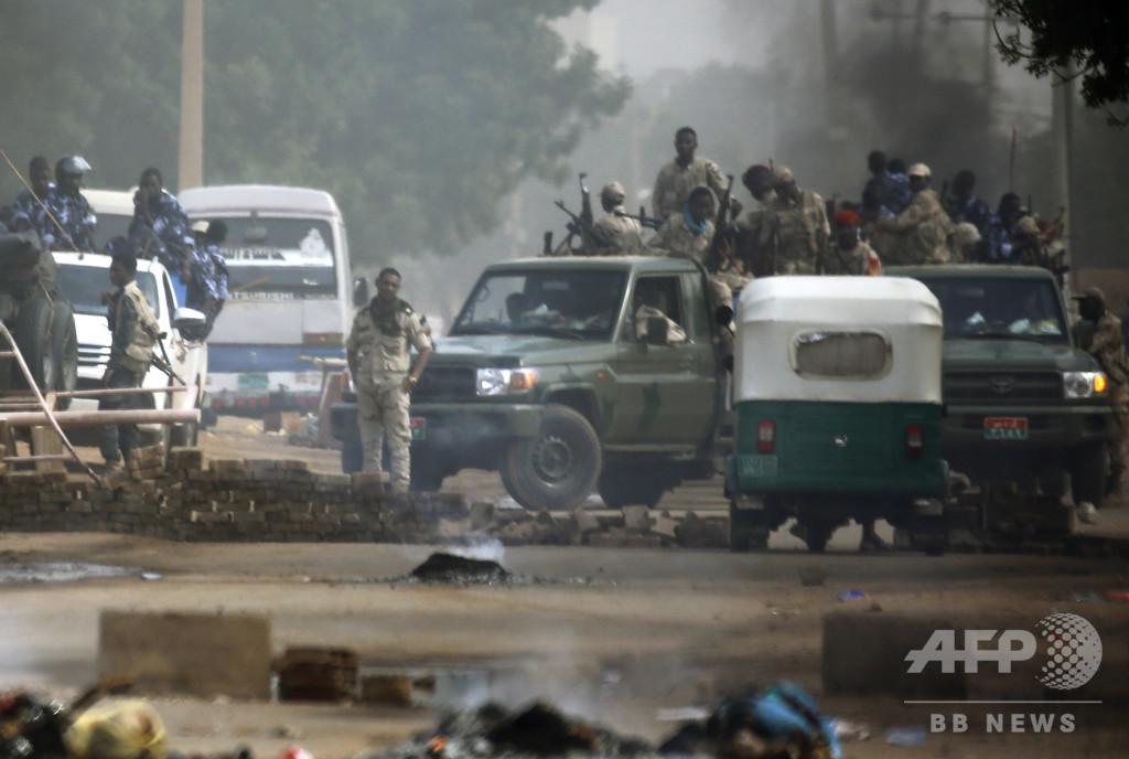 スーダン軍事評議会、デモ隊強制排除初めて認める 「間違いあった」