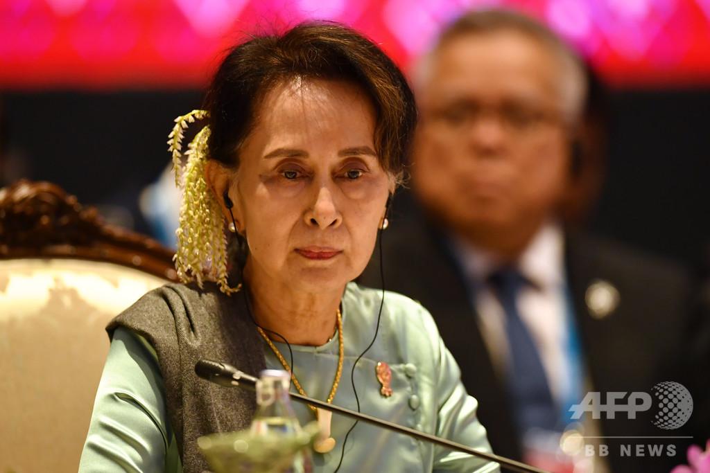 スー・チー氏らミャンマー高官をロヒンギャ迫害で告発、アルゼンチン